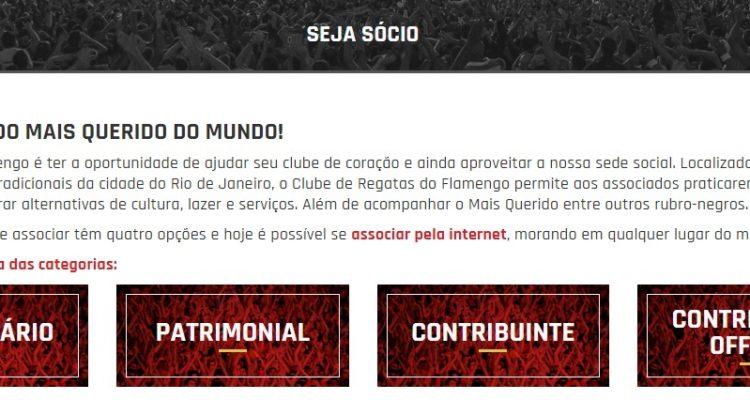 Rubro-negro, associe-se ao Flamengo para votar em 2021