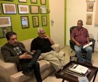 Reunião do Fla+ com a Chapa Branca de Francisco Gularte