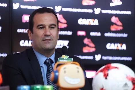 FLA+ se reúne com o VP de Futebol, Ricardo Lomba