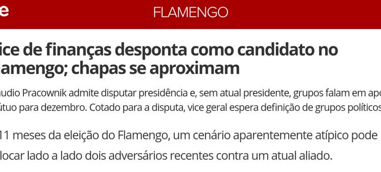 Errata matéria Globo Esporte 04/02/2018